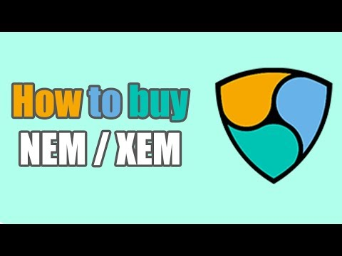 HOW TO BUY NEM/XEM