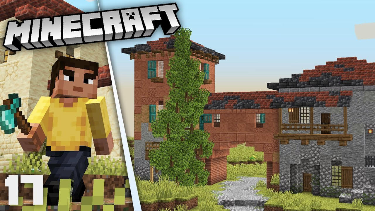 Starting a new Tuscan City! | Minecraft 1.17 Survival
