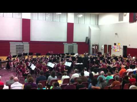 Star Wars Theme - Collinsville Middle School Spring 2012 Band Concert
