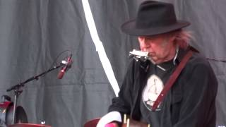 Neil Young & Crazy Horse - Human Highway & A Heart of Gold -  Helsinki August 5, 2013 full hd 1080