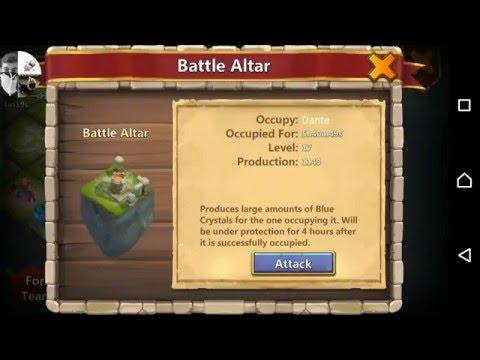 Castle Clash Fight Battle Altar Dante