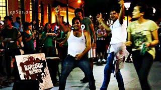 Indian Arabs Dancing Drunk in Singapore