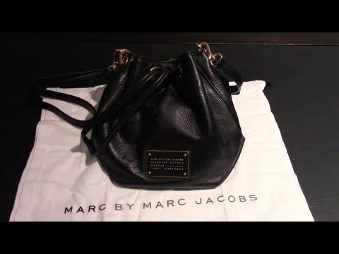 4be51c7f8bd0 Marc by Marc Jacobs M0007214 Black New Too Hot To Handle DrawString Pochette  Mini Shoulder Bag
