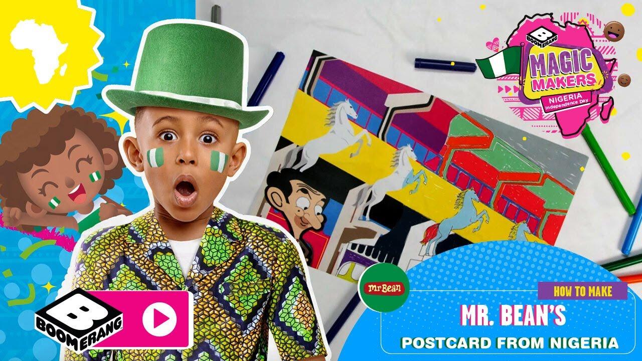 Mr Bean in Nigeria? 🇳🇬| Magic Makers | Boomerang Africa