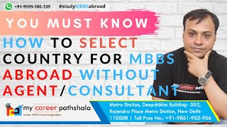 Mbbs from Abroad- How to select country course and college without consultant.