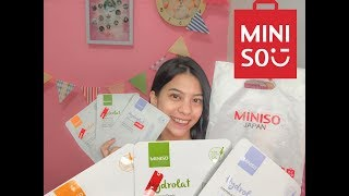 Review Sheet Mask MINISO
