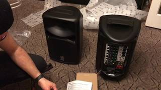 Unboxing Yamaha Stagepas 400BT