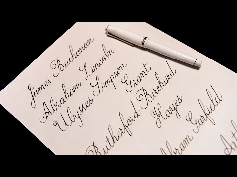 (asmr?)List of Presidents of the United States (15~21th) #3