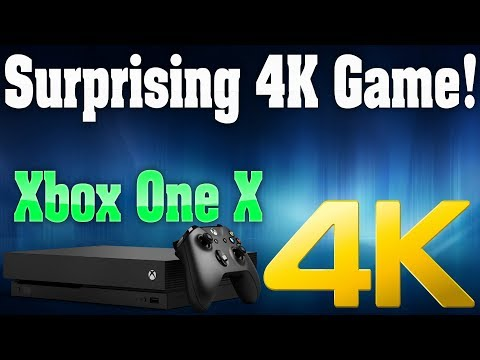 Xbox One X Gets Hugely Surprising 4K Game! This Looks Phenomenal!