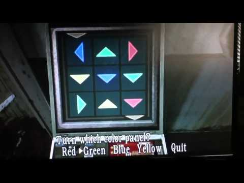 Resident Evil 4 Color Panel Puzzle