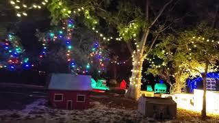 Miniature Christmas Train Ride