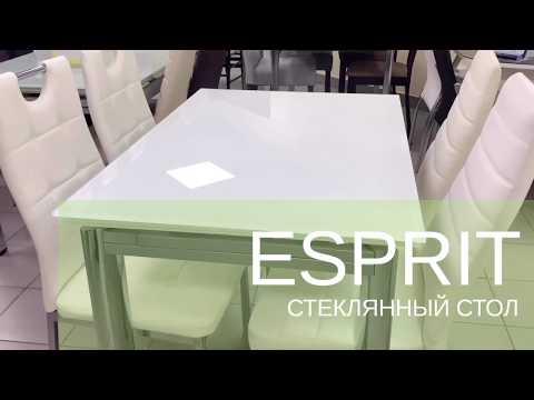 Esprit (100-150х70х76) Стол обеденный