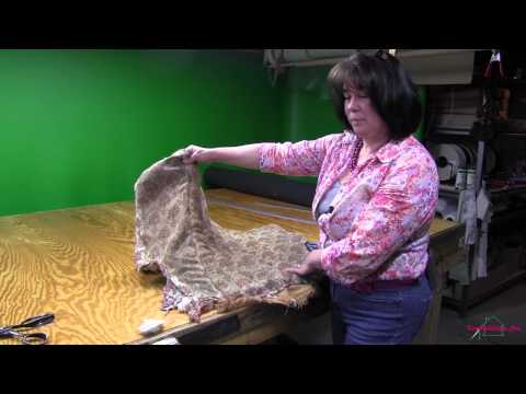Upholstering A Channel Back Chair Part 1