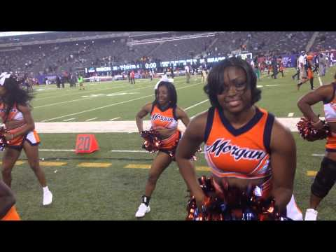 We are the Bears - Morgan State Cheerleaders - Celebrating Victory