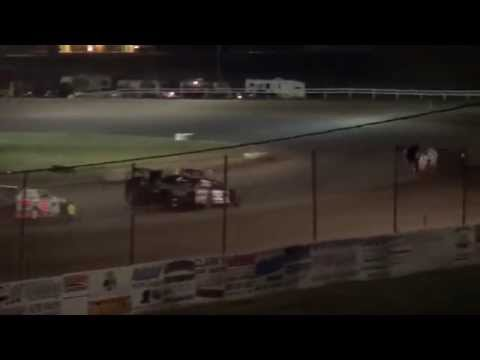 2015 Fall Bash IMCA Modified feature Jackson County Speedway 10/3/15