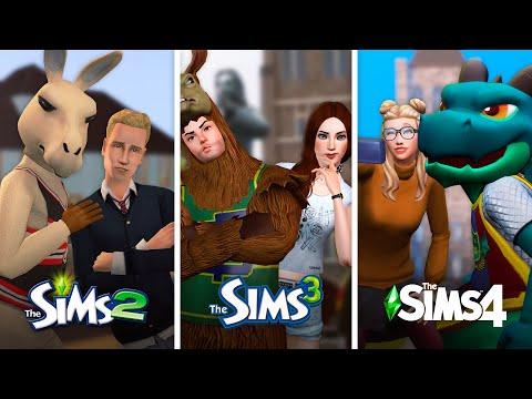 Университет в The Sims   Сравнение 3 частей