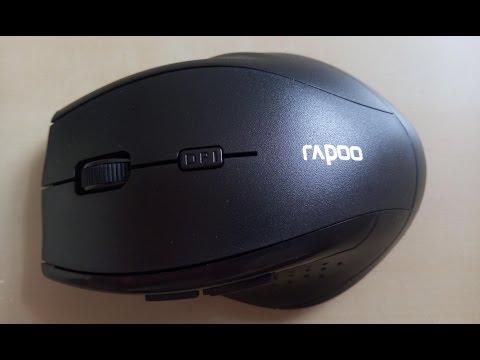 Лучшая дешевая беспроводная мышь RAPOO. Обзор