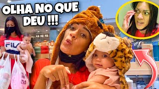 LEVEI MINHA FILHA JADE NO SHOPPING E DEU RUIM! *novelinha*