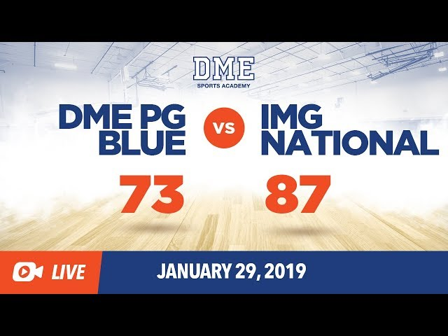 DME PG Blue vs IMG National