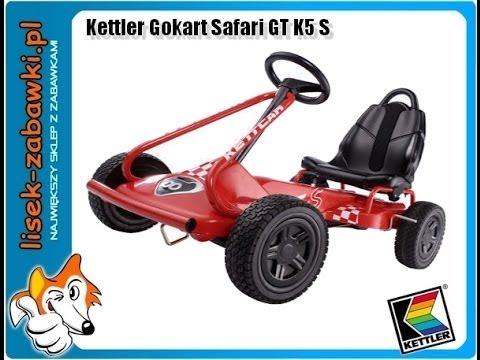 Gokart KETTLER Safari GT K5S Spielzeug für Kinder Kettcar ...