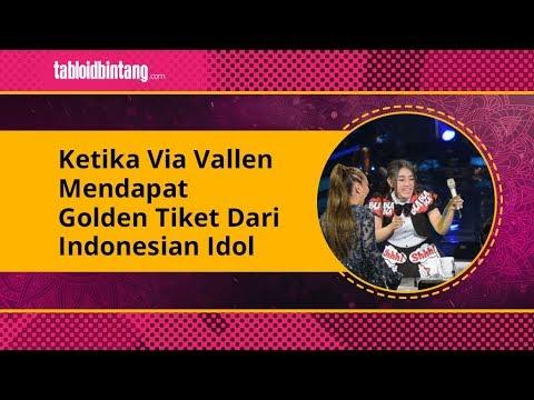 2 Kali Gagal, Akhirnya Via Vallen Raih Golden Tiket Dari Indonesian Idol