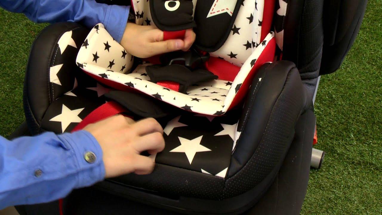 Cosatto Hug Group 1,2,3 Car Seat - YouTube