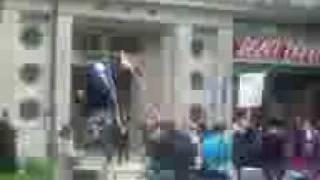 国民航空の労組が横浜地裁前で大騒ぎ!大丈夫か? http://prosakka.juge...