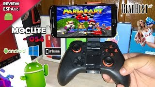 ▶ Gamepad Mocute - 054 Unboxing y Review Español ◀ Andro3000