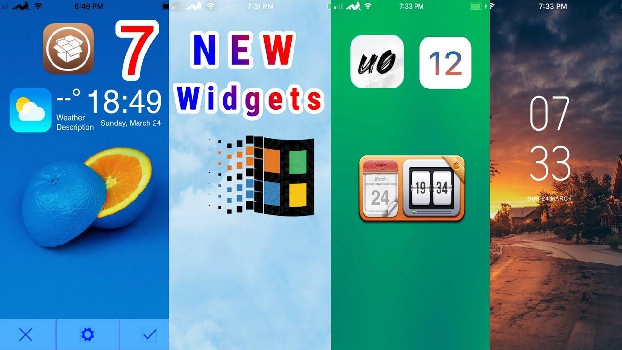 * NEW * TOP 7 Xen HTML Lockscreen Widgets Cydia Tweaks For iOS 12 - 12 1 2  JAILBREAK!