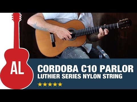 Cordoba C10 Parlor - Luthier Series Nylon String (with Ben Woods)