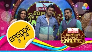Flowers Comedy Super Nite-Manoj K. Jayan- EP #74
