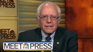Bernie Sanders On Trump, ISIS, Economic Inequality   Meet The Press   NBC News