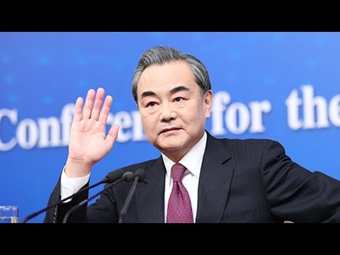 Chinese Foreign Minister Wang Yi briefs media about China's 2017 foreign policy priorities