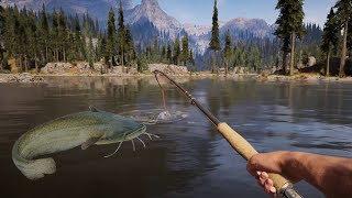 FAR CRY 5 - Je pêche un MONSTRE SECRET ! Le plus GROS poisson
