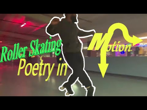 "Roller Skating Poetry in Motion- Omotayo / ""O"" / DJ Mayo- at Rollerlands in Choctaw, Oklahoma, USA"