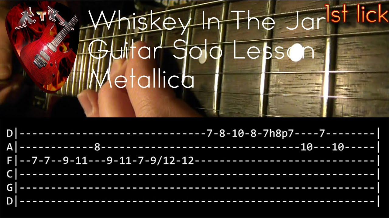 metallica whiskey in the jar chords