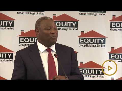 Equity Bank records a 4 per cent drop in net earnings to Sh16.6 billion for the year 2016