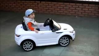 Детский электромобиль Range Rover Evoque: 12V, 90W, 7 км/ч - raspashonka.com.ua