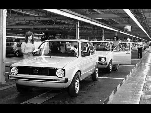 VW Golf 1 The Legend- Great photo history . ( VW rabbit for USA) - YouTube