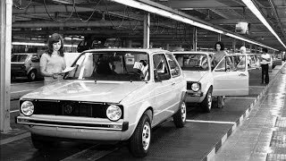 VW Golf 1 The Legend- Great photo history .  ( VW rabbit for USA)