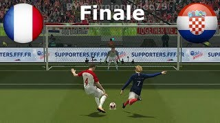 "Francia Vs Croazia - World CUP 2018 - Calci di Rigore ""FINALE"" 