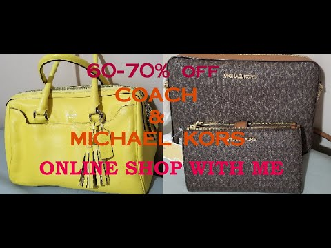 COACH OUTLET & MICHAEL KORS 60-70% #DESIGNERBAGS COME SHOP WITH ME HURRY UP!!!