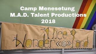 Camp Menesetung Alice in Wonderland Production 2018