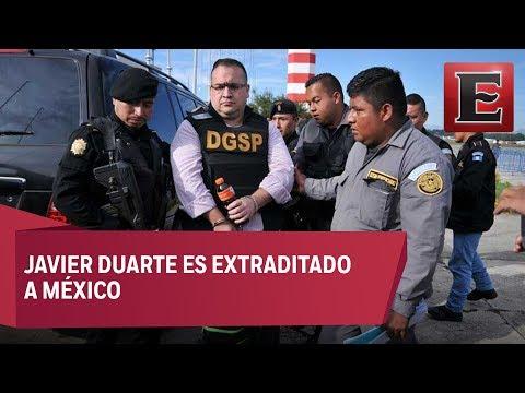Entregan a Duarte a autoridades mexicanas para su extradición
