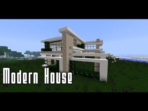 Full download ein modernes haus bauen let s play for Minecraft modernes haus bauen