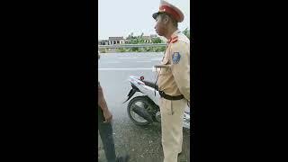Thanh Niên Cứng Luật Đọc Vanh Vách Khiến CSGT Giao Thủy Nam Định Chán Lăn