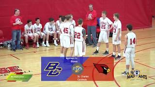 Blackhawk Christian vs St. Charles | Middle School Boys Basketball thumbnail