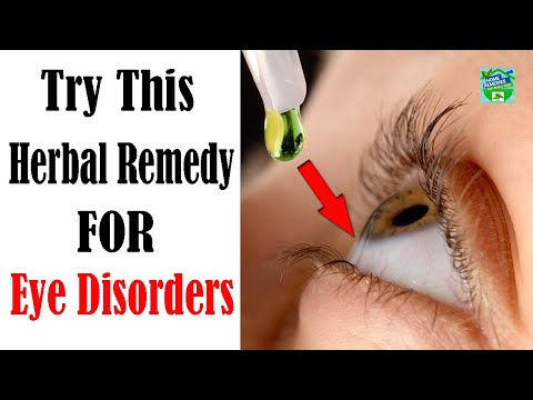 Only 1 Ingredient Herbal Remedy for Eye Disorders !
