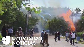 En video: Fuertes enfrentamientos en Chihuahua por la recuperación de la presa La Boquilla