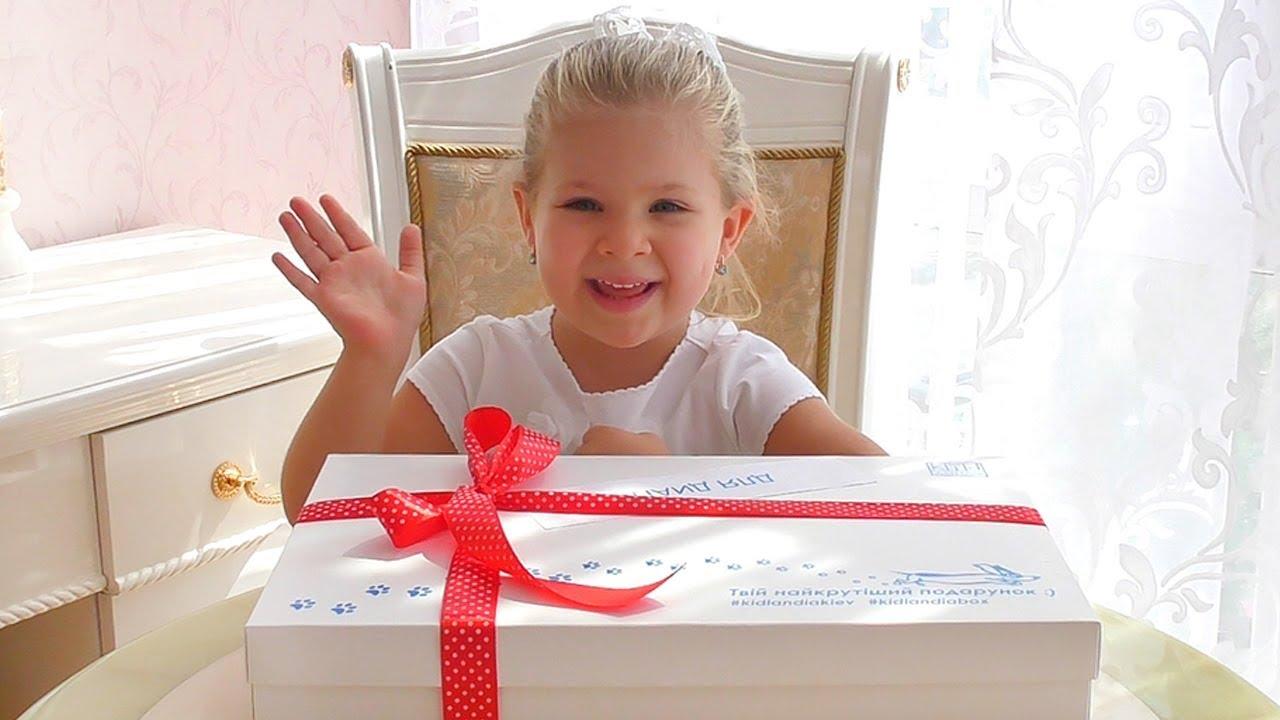 Подарок Бокс от Кидландия для Дианы! Детский парк профессий в Киеве